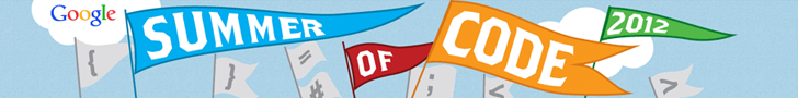 Google Summer of Code 2012 banner