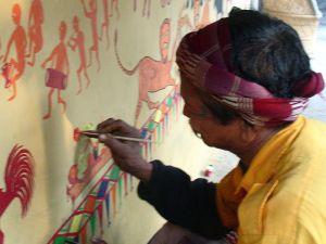 Pithora painter
