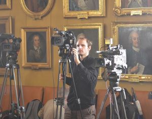 """Newly aquired videoset for the """"equipment pool"""" being used by Holger Motzkau at the Swedish Academy of Sciences, October, 2012"""