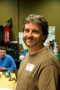 Rob Lanphier at a recent hackathon in New Orleans, LA