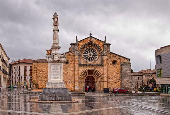Iglesia de San Pedro - Ávila, Wiki Loves Monuments 2012 finalist, Spain.