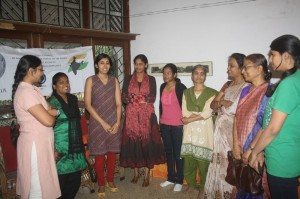 Women participants of the Wikipedia Workshop, Bangalore