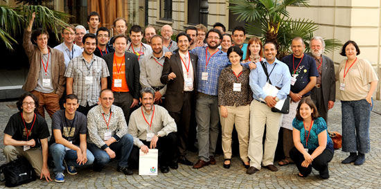 Participants in the Education Leaders Workshop in Milan.