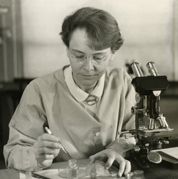 One of our best stories of the year focused on Emily Temple-Wood's effort to increase Wikipedia's coverage of women scientists. One of her favorites isBarbara McClintock, seen here and a 1983 winner of the Nobel Prize. Photo from the Smithsonian, public domain.