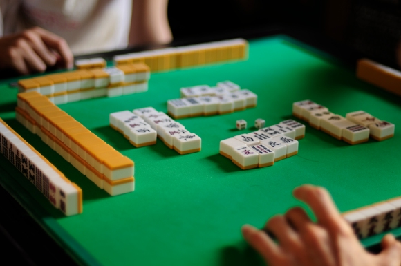 García's first article on Wikipedia was about Mahjong. Photo by yui, CC BY 2.0.