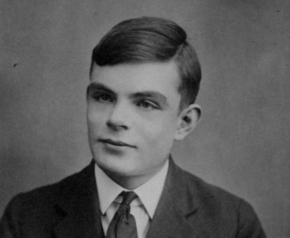 Alan Turing public domain photo.