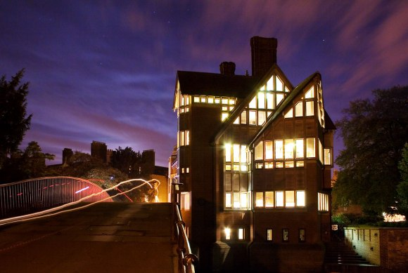Jerwood Library, Trinity Hall, Cambridge. Photo by Andrew Dunn, CC BY-SA 2.0.